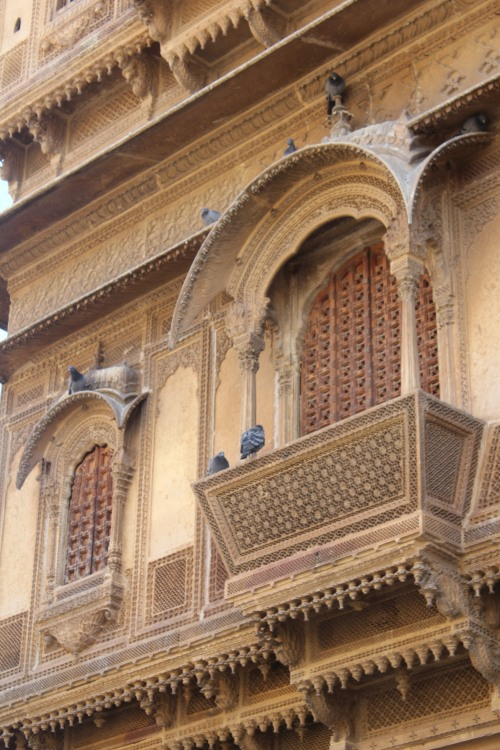 Amazing architecture of the Haveli